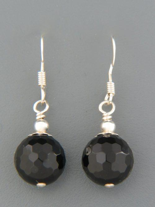 Onyx Earrings - Sterling Silver - OX507