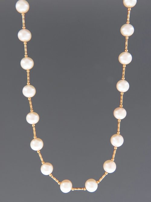 8mm Pacific Pearls with twist beads - YW8HN