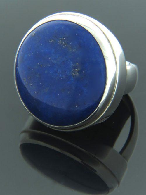 Lapis Lazuli Ring - Sterling Silver - LL101R