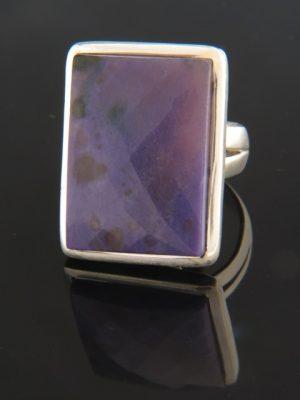 Sugilite Ring - Sterling Silver - SG115R