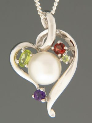 Pacific Pearl Pendant - Sterling Silver - Y306