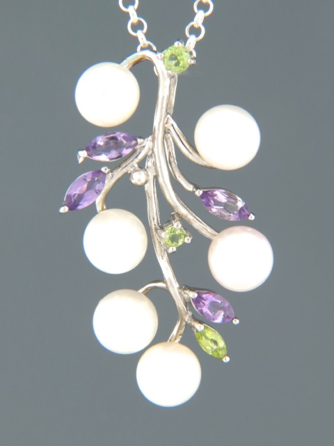 Pacific Pearl Pendant - Sterling Silver - Y320