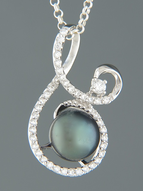 Pacific Pearl Pendant - Sterling Silver - Y317