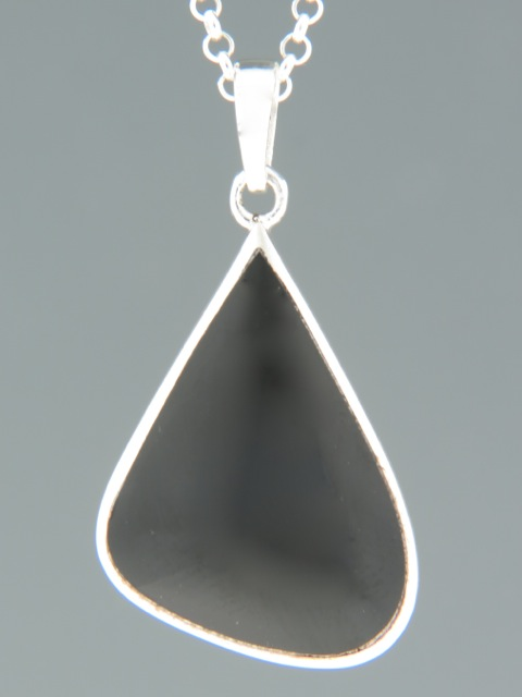 Onyx Pendant - Sterling Silver - OX303