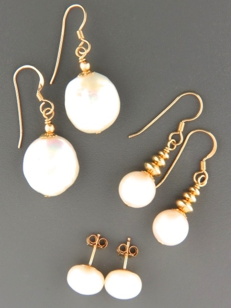 View Our Full Selection of White Pearl Earrings
