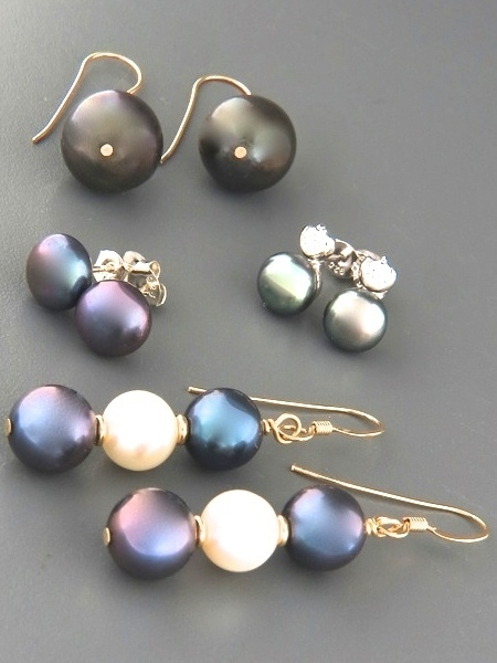 View Our Full Selection of Dark Pearl Earrings