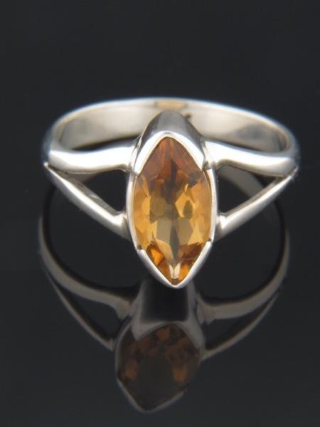 Citrine Ring - Sterling Silver - C101R