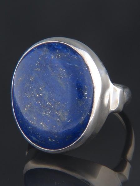 Lapis Lazuli Ring - Sterling Silver - LL100R