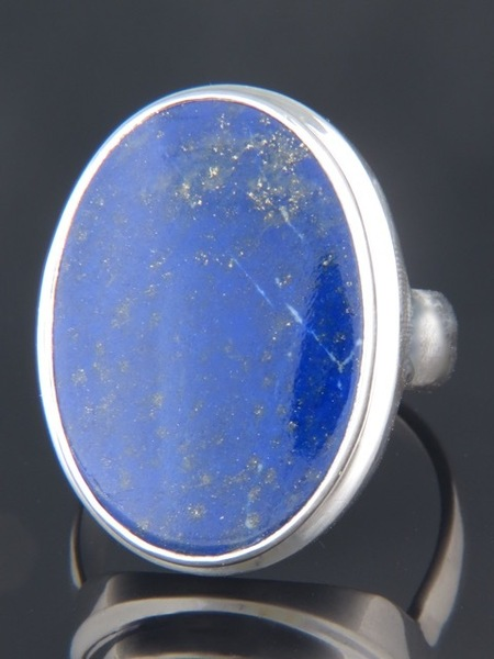 Lapis Lazuli Ring - Sterling Silver - LL102R