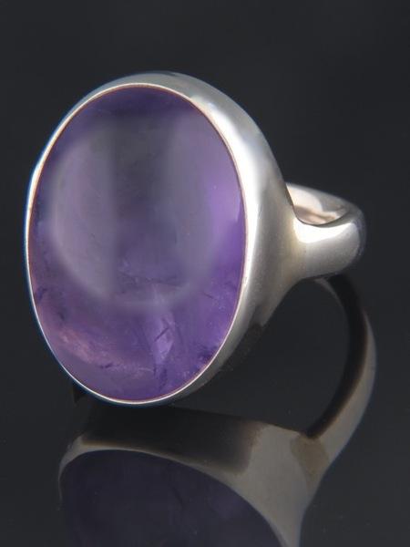 Amethyst Ring - Sterling Silver - A117R