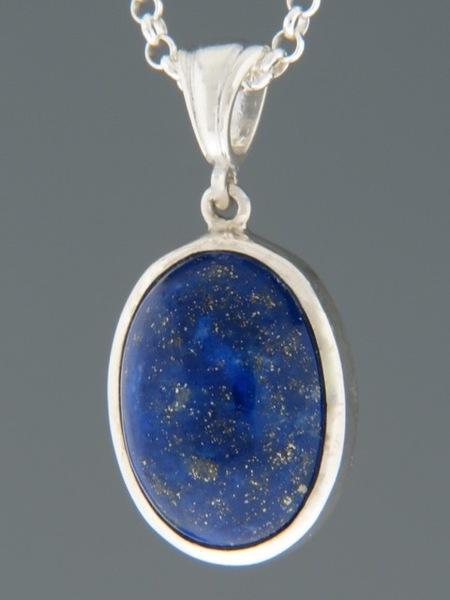 Lapis Lazuli Pendant - Sterling Silver - LL303