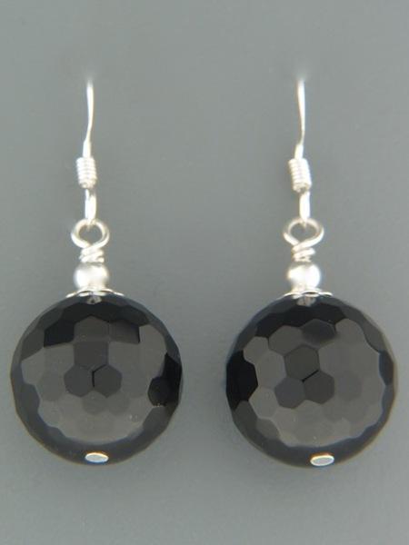 Onyx Earrings - Sterling Silver - OX520