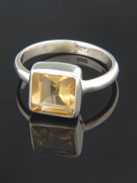 Citrine Ring - Sterling Silver - C112R
