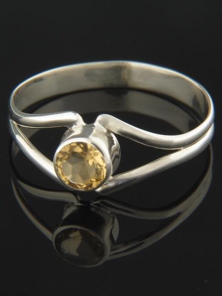 Citrine Ring - Sterling Silver - C109R