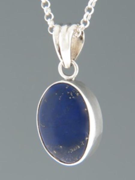 Lapis Lazuli Pendant - Sterling Silver - LL307