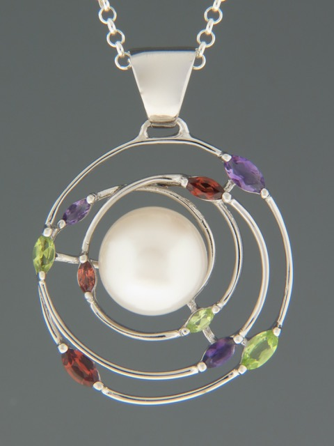 Pacific Pearl Pendant - Sterling Silver - Y304