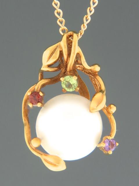 Pacific Pearl Pendant - Gold Vermeil - Y314GV