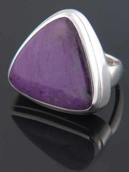 Sugilite Ring - Sterling Silver - SG105R
