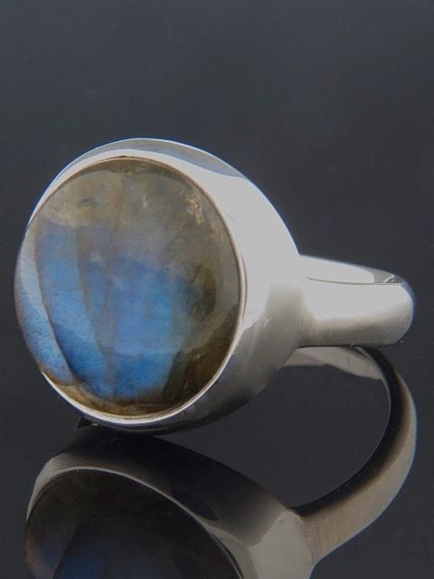 Labradorite Ring - Sterling Silver - LAB105R