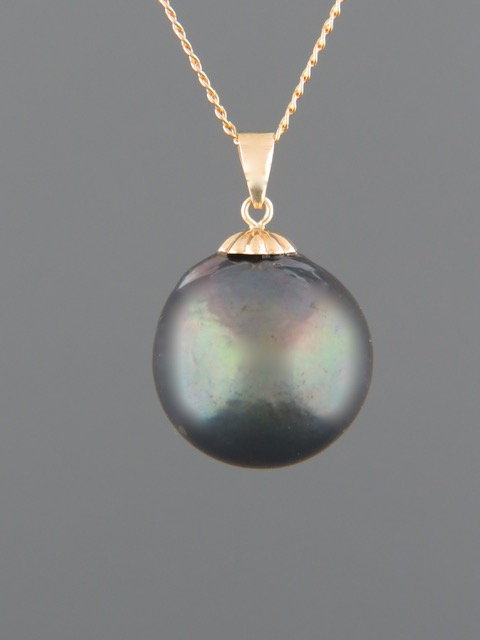 Pacific Pearl Pendant - 9ct Gold - Y330