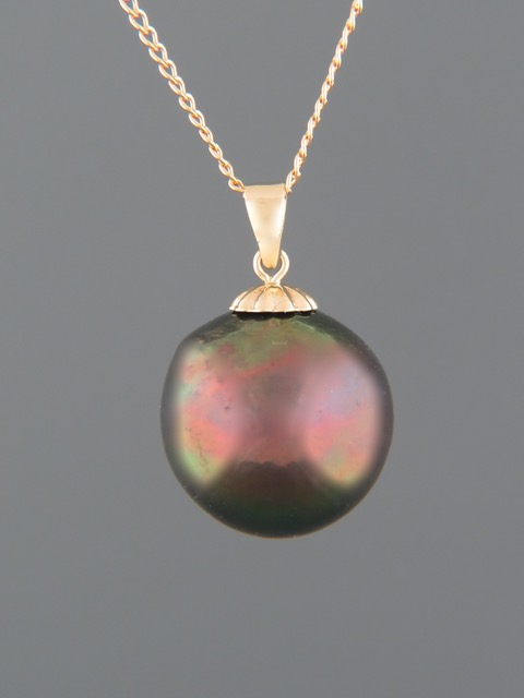 Pacific Pearl Pendant - 9ct Gold - Y323