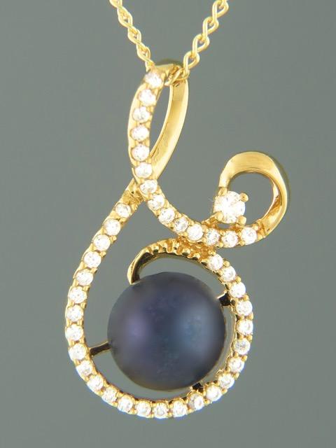 Pacific Pearl Pendant - Gold Vermeil - Y317GV