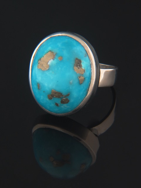 Turquoise Ring - Sterling Silver - TQ101R