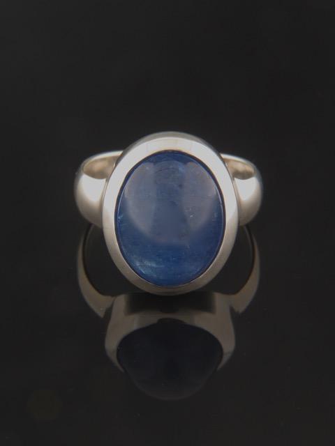 Tanzanite Ring - Sterling Silver - TNZ103R