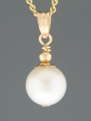 Pacific Pearl Pendant - 14ct Gold - YW10PG