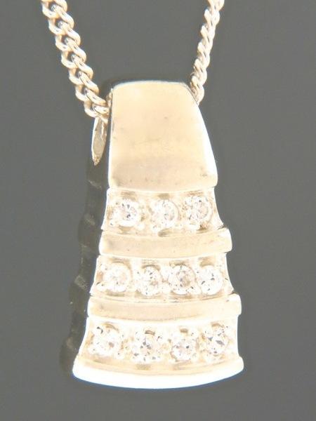 Zircon Pendant - Sterling Silver - Z418