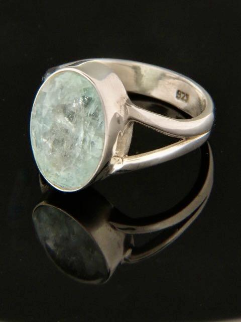 Aquamarine Ring - Sterling Silver - AQ102R
