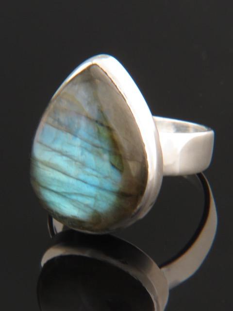 Labradorite Ring - Sterling Silver - LAB104R