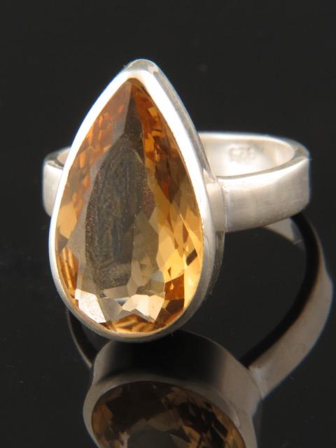 Citrine Ring - Sterling Silver - C106R