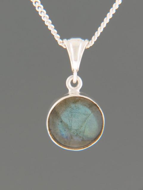 Labradorite Pendant - Sterling Silver - LAB318